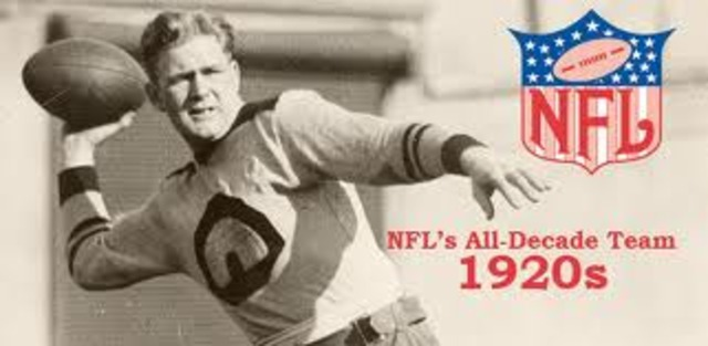 The Start of the NFL