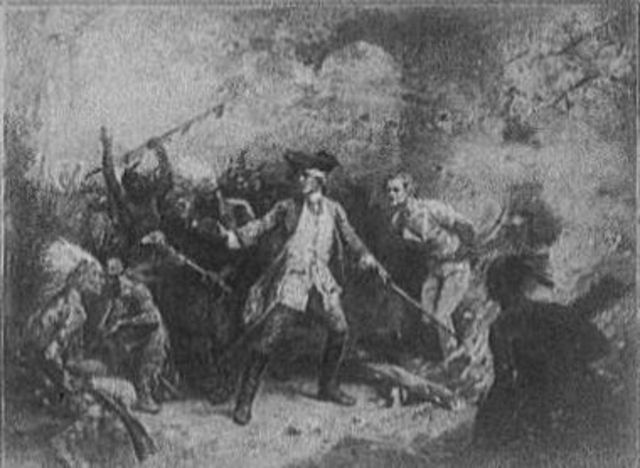 Start of French & Indian War