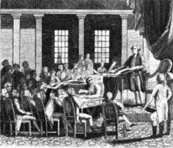 Second Continental Congress convenes