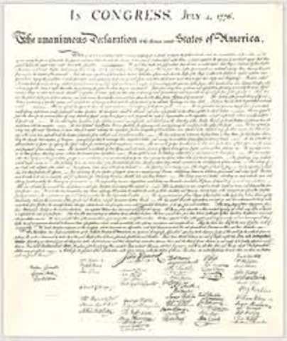 declaration of independence was signed