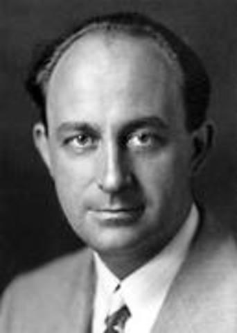 atom split by Enrico Fermi
