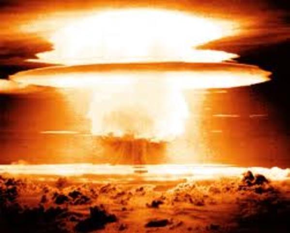 Fisrt Nuclear Weapon test
