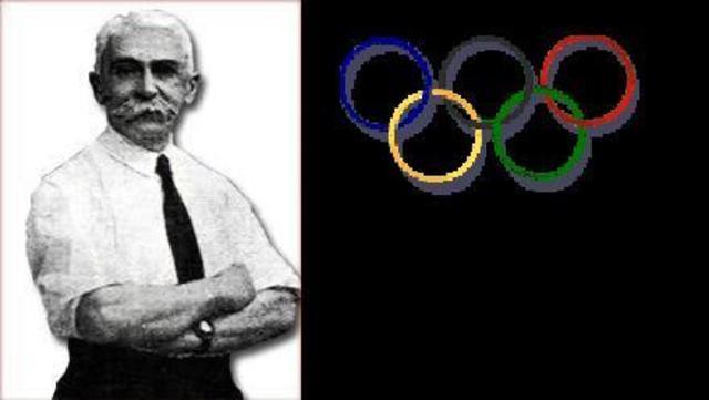 Nacimiento de los juegos olímpicos modernos