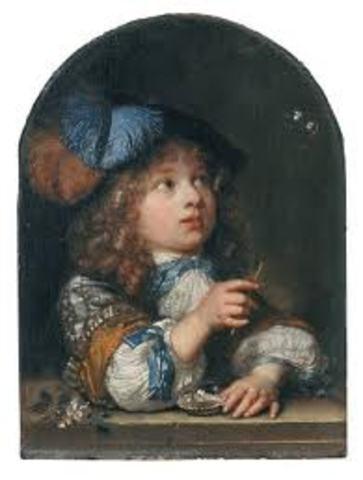 Infant Crowned Queen