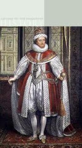 New King James VI  of England