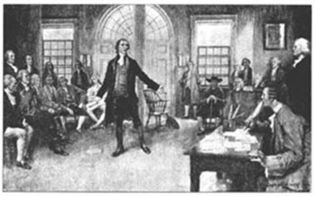 1st Continental Congress was held