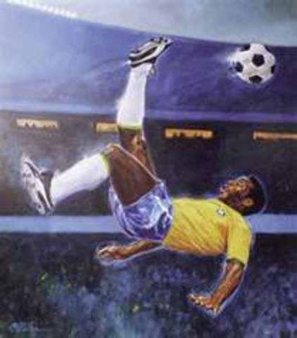 Pele's retirement