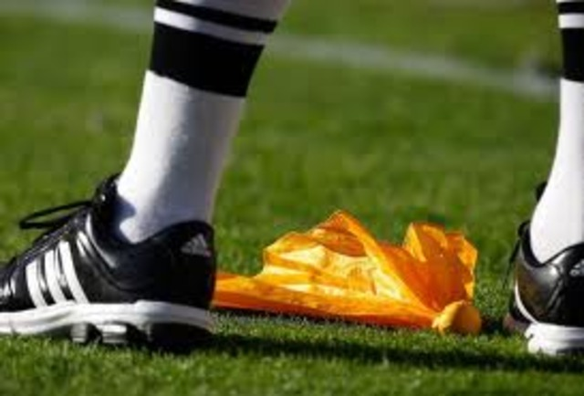 First use of the penalty Flag