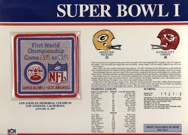First Super Bowl game