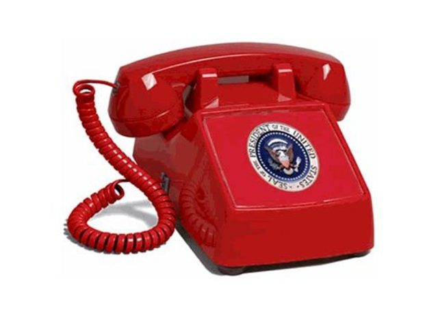U.S makes a hotline with U.S.S.R.