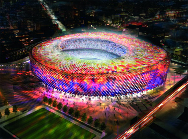 outstanding soccer stadiums around the world today.!!!
