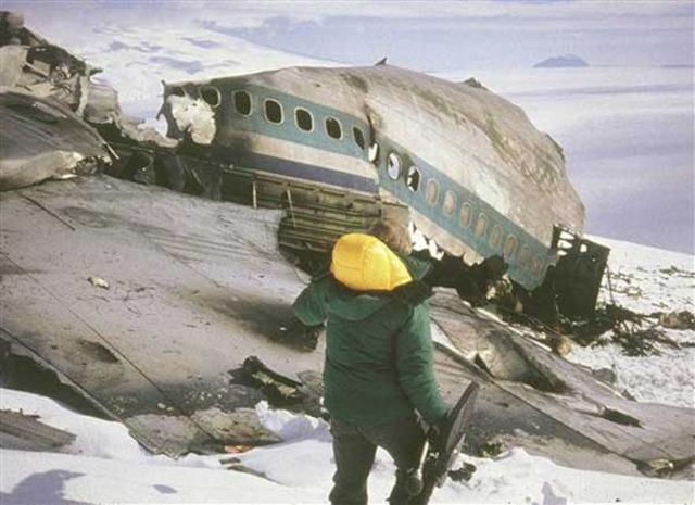 Mount Erebus Crash