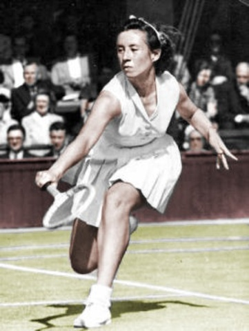 First woman to win all 4 GlandSlamTournamets title.