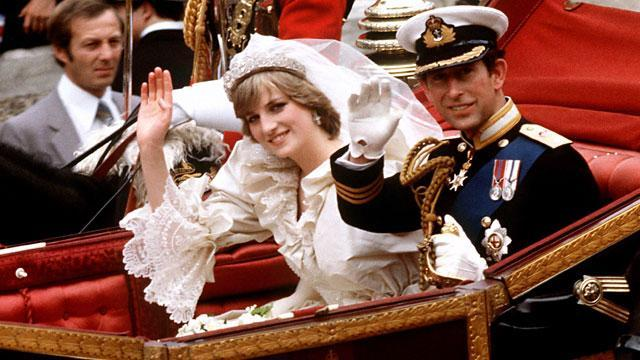 Prince and Lady Di Marry