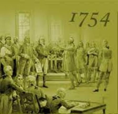 Albany Congress Proposses the Colonies unite