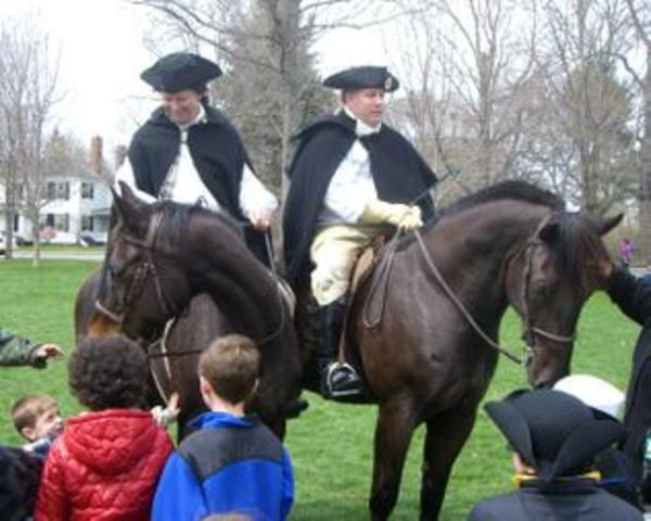 The Ride of Paul Revere and William Dawes
