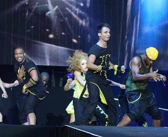 JLS's first concert