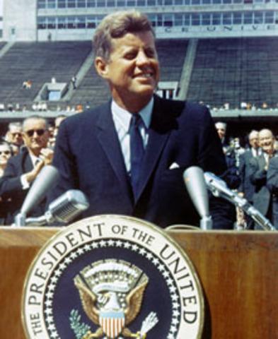JFK'S speech on Rice University!