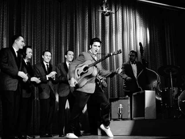 Elvis makes his Ed Sullivan Show debut