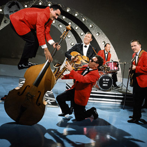 """Bill Haley and His Comets release """"Rock Around The Clock:"""