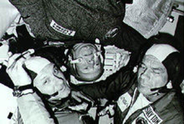 First International Doking in Space