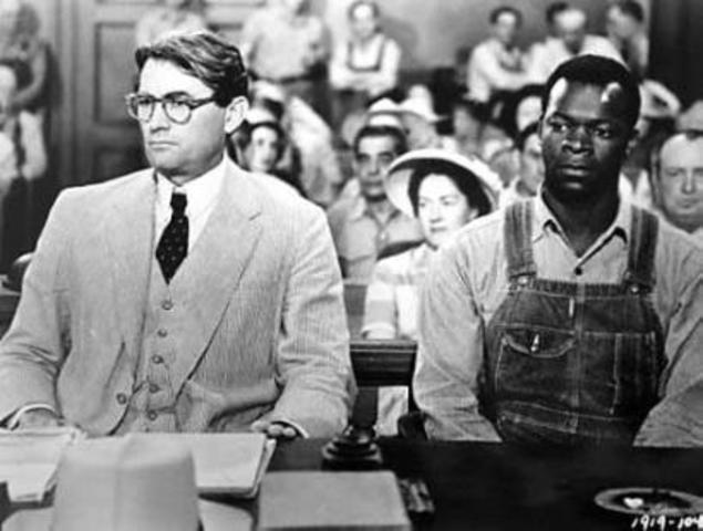 Atticus talks about racism, theme