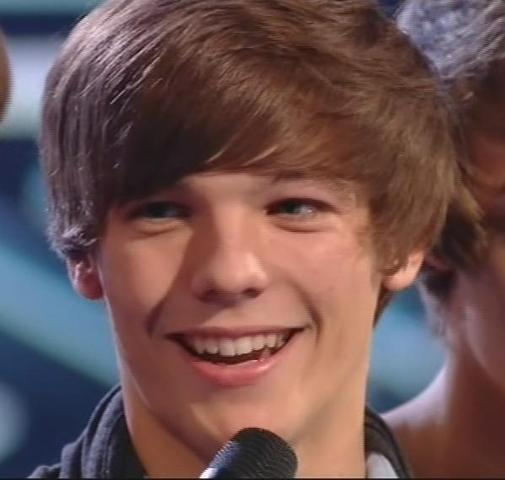 Louis auditions for the X Factor