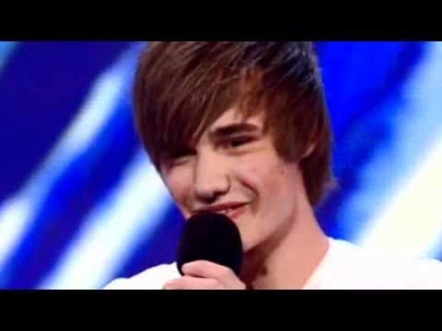 Liam auditions for the X factor!