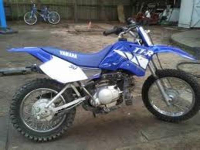 When I got my first dirt bike