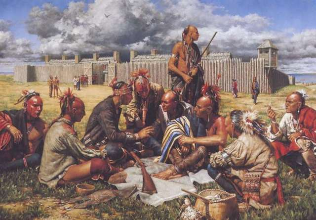 Iroquois ally with British