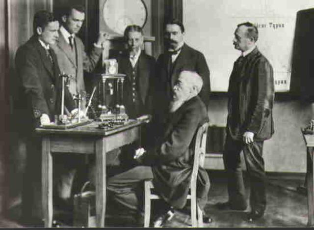 First Formal Psychology Lab