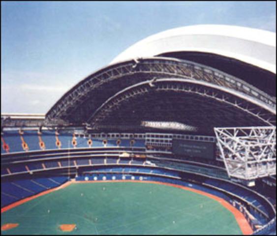 First Retractable Roof Stadium