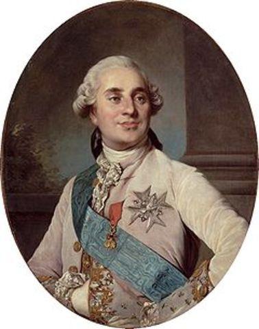 Coronation of Louis XVI as King