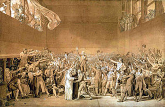 Tennis Court Oath is Created