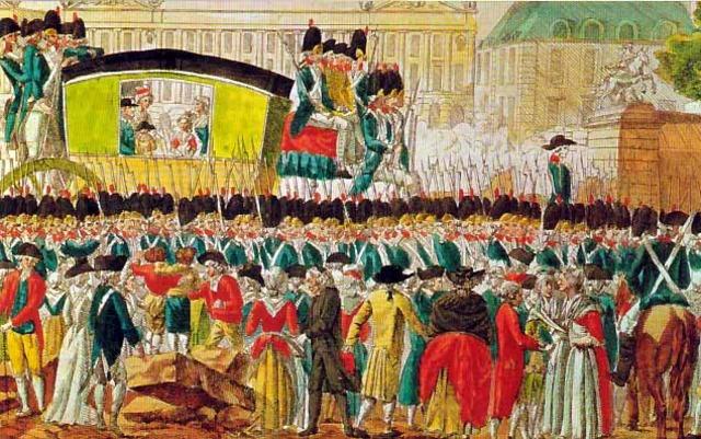 Versailles is stormed