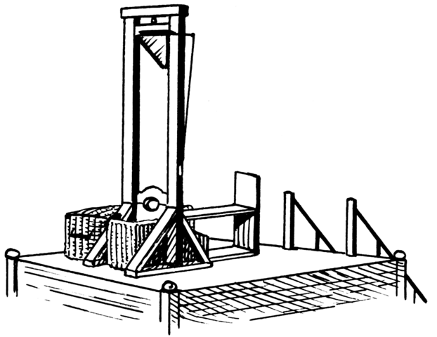 The 'Guillotine' is made the official means of execution