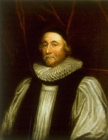 James Ussher Proclaims Date of Earth's Creation