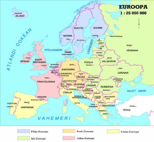 Jugoslaavia territooriumil eraldusid Sloveenia, Horvaatia, Makedoonia, Bosnia ja Hertsegoviina