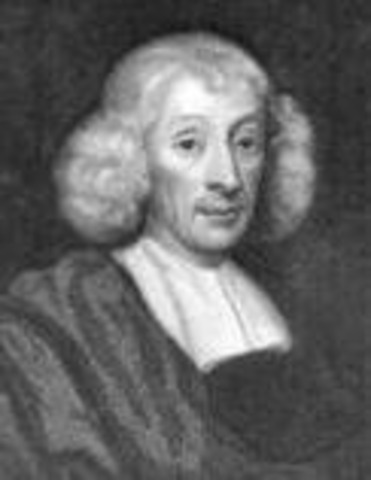 John Ray, an English naturalist and ordained minister.