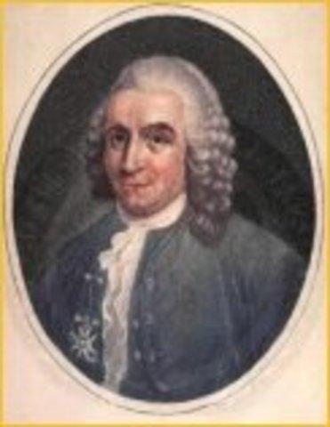Carl Linnaeus names plants