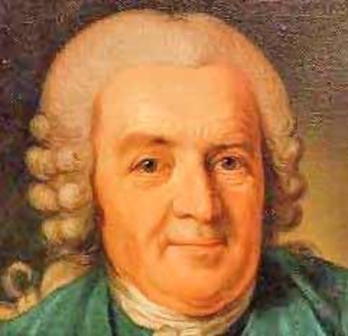 Carl Linnaeus publishes first edition of systema nature