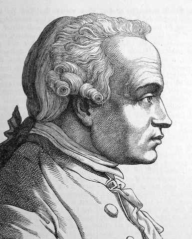 German philosopher Immanuel Kant's birth