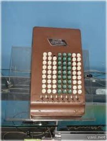 Comptómetro