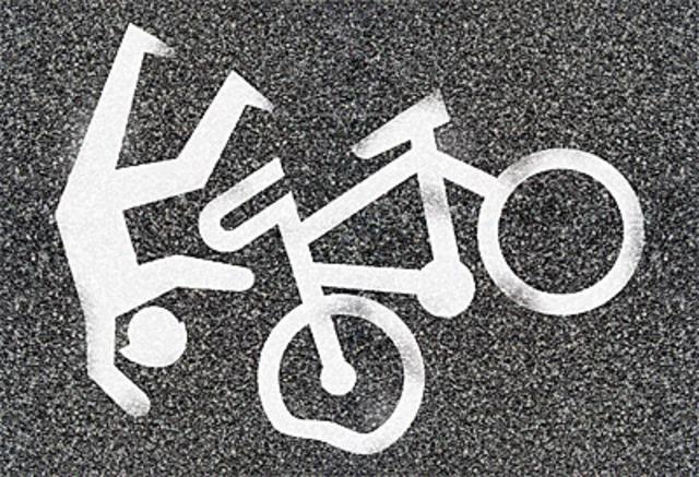 fall from bike