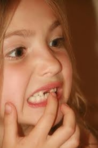 When I lost my first tooth
