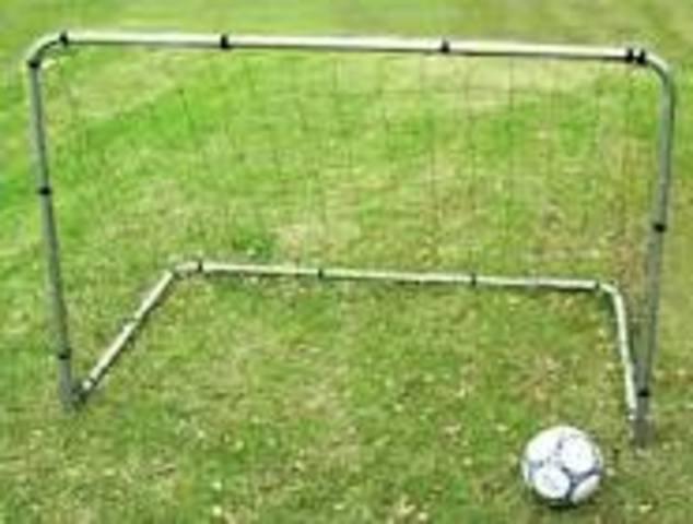 Fisrst goal scored in soccer
