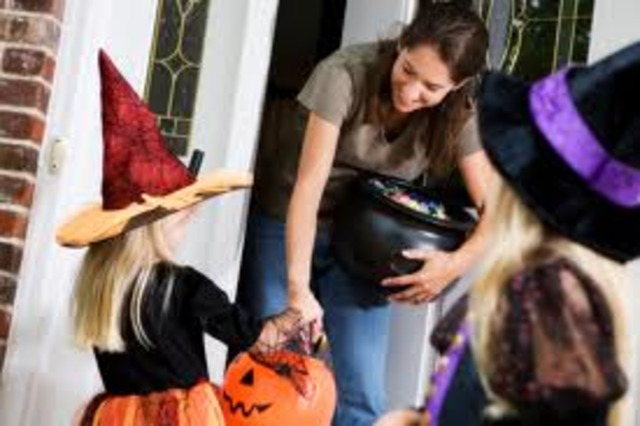 First time trick or treating