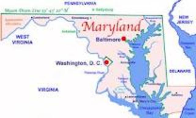 moved to Maryland