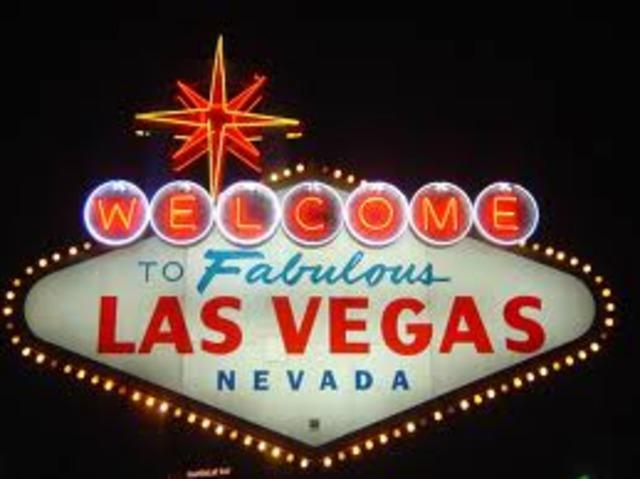 Moved to las Vegas