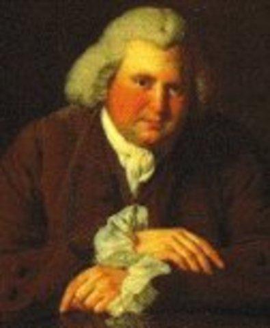Erasmus Darwin believes that Evolution occurs in living things.